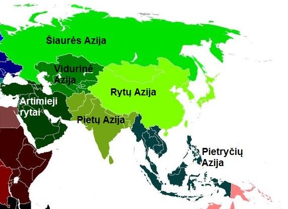 Vidutinio dydzio narys Azijoje