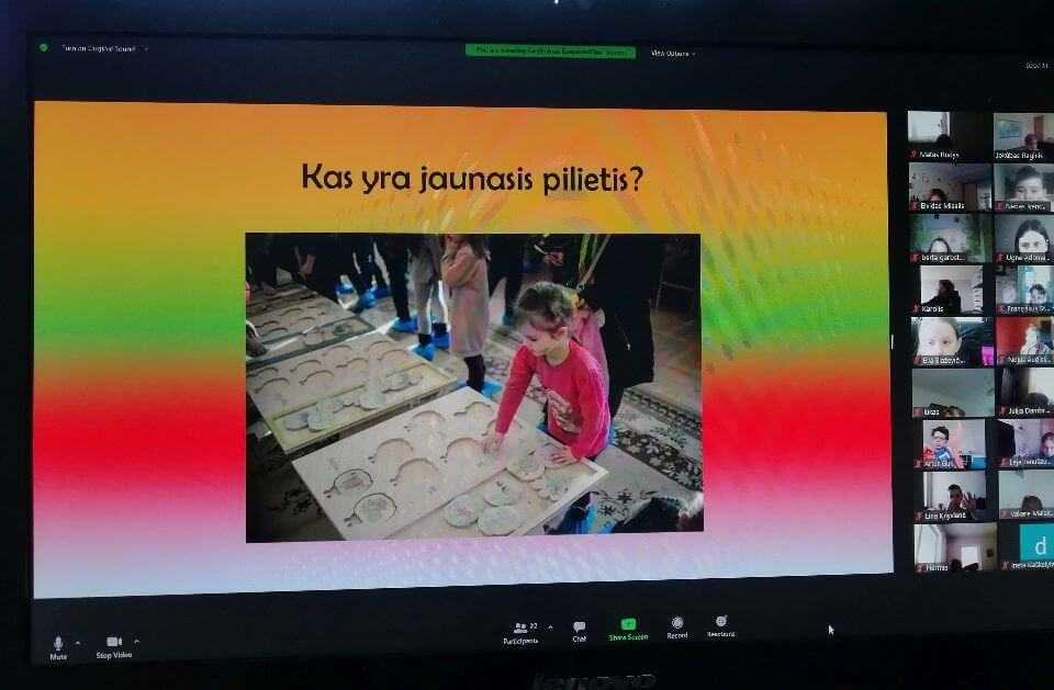 Pamoka padidino vaizdo irasu nariu pamoka