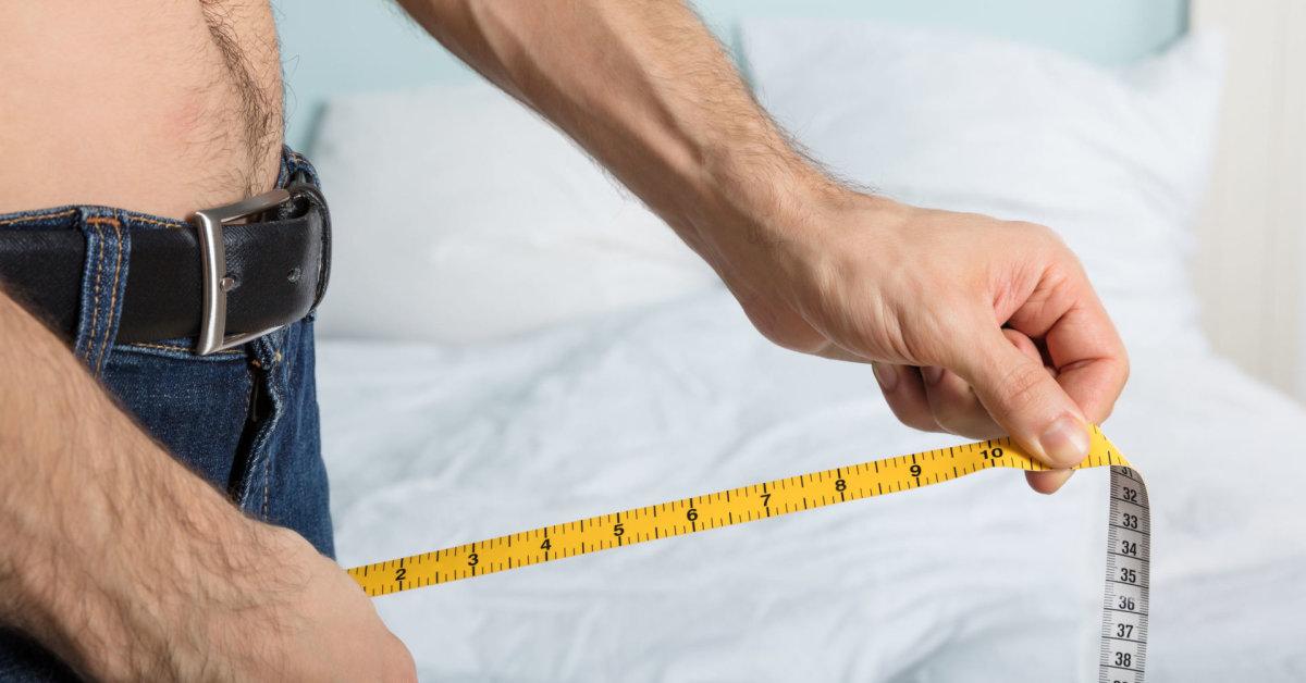 Penio dydis priklauso nuo pirstu