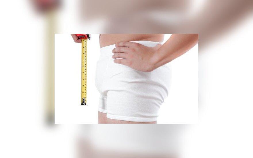 Penis dydis 14 metu